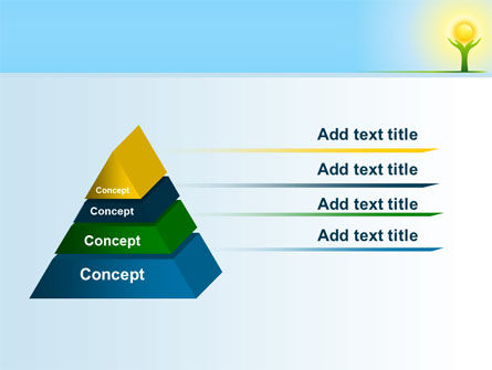Sun Light PowerPoint Template, Slide 4, 08094, Religious/Spiritual — PoweredTemplate.com