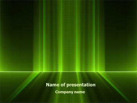 Green Horizon PowerPoint Template