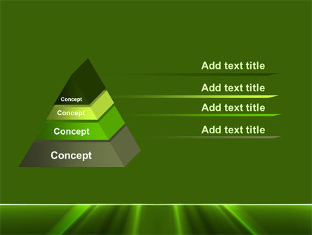 Green Horizon PowerPoint Template Slide 12