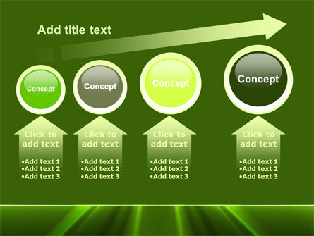 Green Horizon PowerPoint Template Slide 13