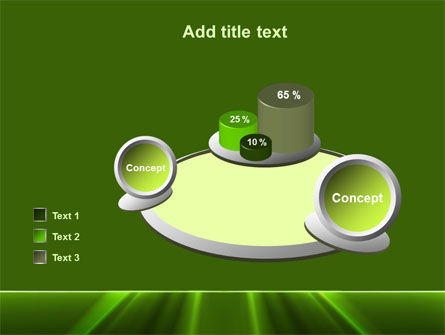 Green Horizon PowerPoint Template Slide 16