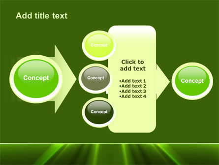 Green Horizon PowerPoint Template Slide 17