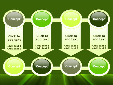 Green Horizon PowerPoint Template Slide 18
