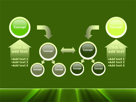 Green Horizon PowerPoint Template Slide 19