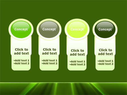 Green Horizon PowerPoint Template Slide 5