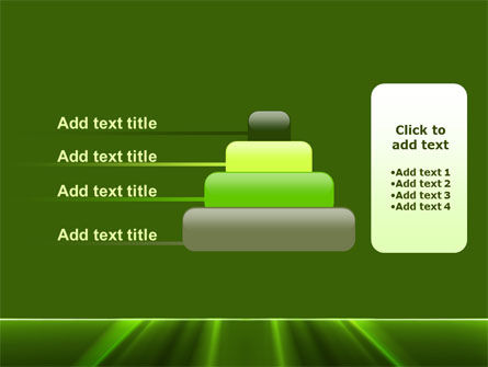 Green Horizon PowerPoint Template Slide 8