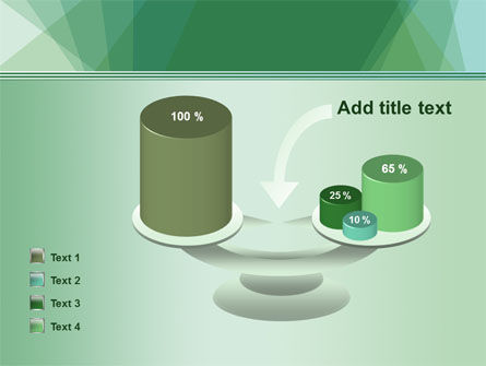 Green Paper Sheets PowerPoint Template Slide 10