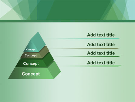 Green Paper Sheets PowerPoint Template Slide 12
