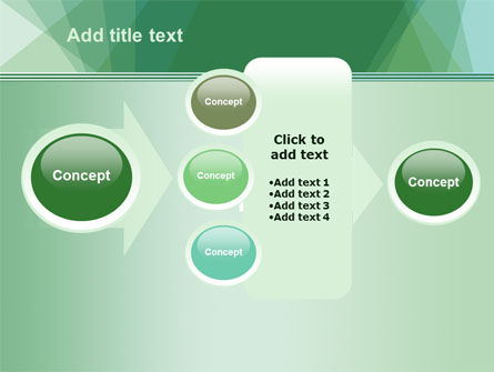 Green Paper Sheets PowerPoint Template Slide 17