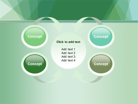 Green Paper Sheets PowerPoint Template Slide 6