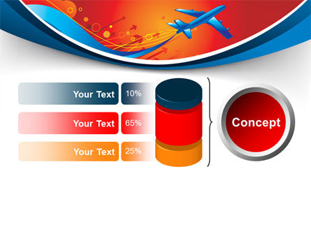 Airfare PowerPoint Template Slide 11