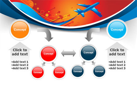 Airfare PowerPoint Template Slide 19