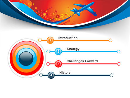 Airfare PowerPoint Template, Slide 3, 08100, Business Concepts — PoweredTemplate.com