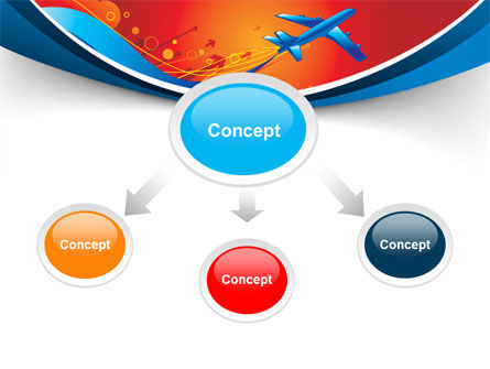 Airfare PowerPoint Template, Slide 4, 08100, Business Concepts — PoweredTemplate.com