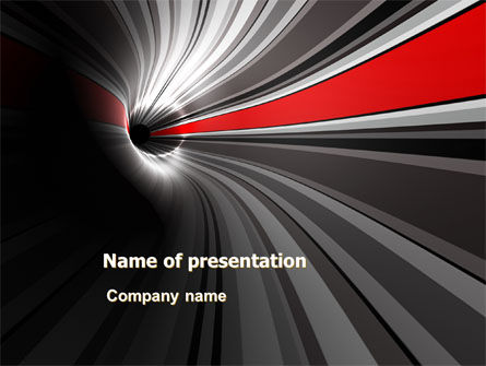 Abstract/Textures: Time-Space Continuum PowerPoint Template #08103