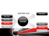 Time-Space Continuum PowerPoint Template#14