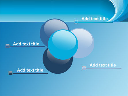 Ice Blue Theme PowerPoint Template Slide 10