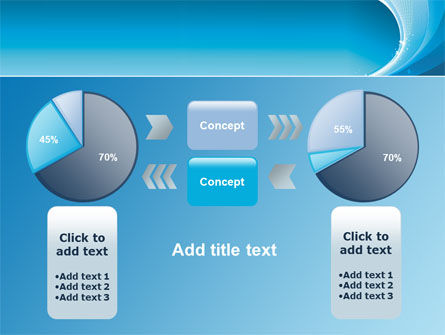 Ice Blue Theme PowerPoint Template Slide 11