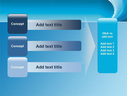 Ice Blue Theme PowerPoint Template Slide 12