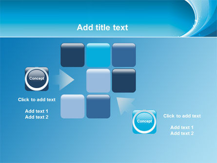 Ice Blue Theme PowerPoint Template Slide 16