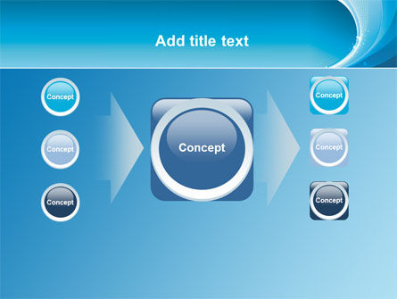 Ice Blue Theme PowerPoint Template Slide 17