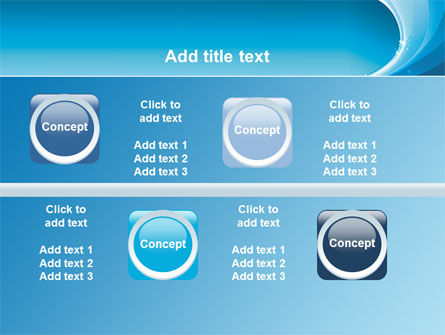 Ice Blue Theme PowerPoint Template Slide 19
