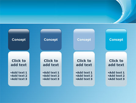 Ice Blue Theme PowerPoint Template Slide 5