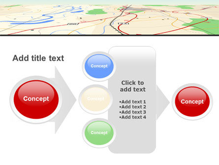 Road Map PowerPoint Template Slide 17
