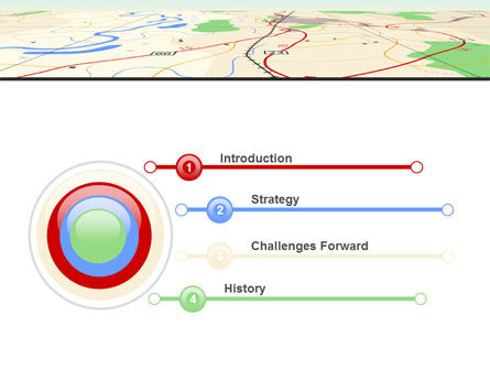Road Map PowerPoint Template, Slide 3, 08109, Careers/Industry — PoweredTemplate.com