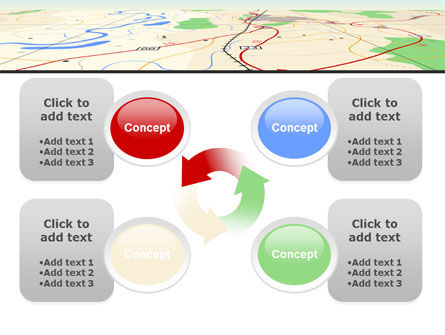 Road Map PowerPoint Template Slide 9