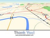 Road Map PowerPoint Template#20