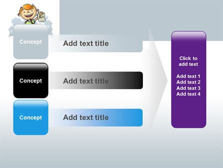 Excellent Pupil PowerPoint Template Slide 12