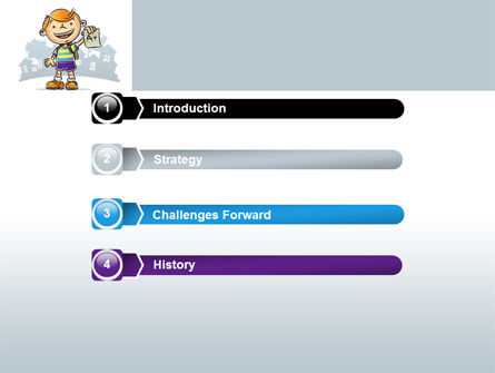 Excellent Pupil PowerPoint Template, Slide 3, 08113, Education & Training — PoweredTemplate.com