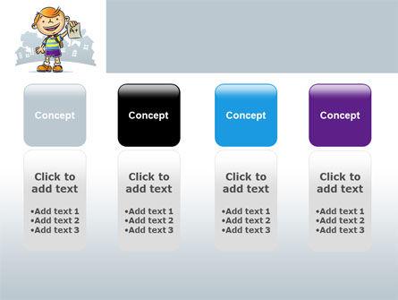 Excellent Pupil PowerPoint Template Slide 5