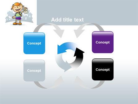 Excellent Pupil PowerPoint Template Slide 6