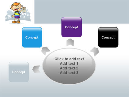 Excellent Pupil PowerPoint Template Slide 7