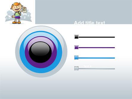 Excellent Pupil PowerPoint Template Slide 9