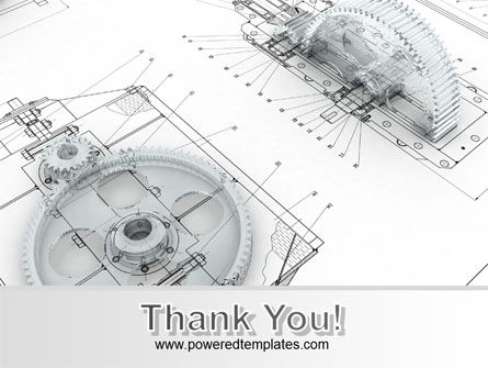 Engineering Drawing PowerPoint Template Slide 20