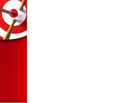 Red Target PowerPoint Template, Slide 3, 08116, Business Concepts — PoweredTemplate.com