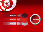Red Target PowerPoint Template#11