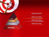 Red Target PowerPoint Template#12
