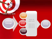Red Target PowerPoint Template#17