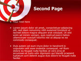 Red Target PowerPoint Template#2