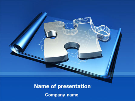 Jigsaw Sketch PowerPoint Template