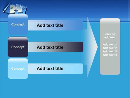 Jigsaw Sketch PowerPoint Template Slide 12