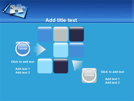 Jigsaw Sketch PowerPoint Template Slide 16