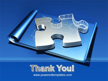 Jigsaw Sketch PowerPoint Template Slide 20