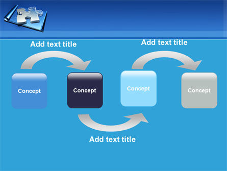 Jigsaw Sketch PowerPoint Template Slide 4