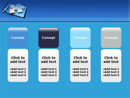 Jigsaw Sketch PowerPoint Template Slide 5