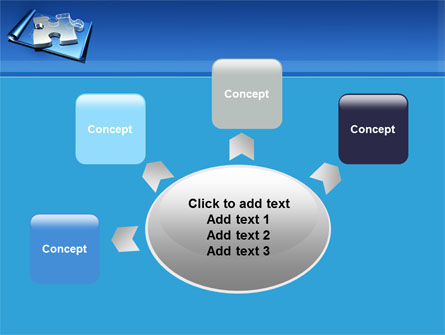 Jigsaw Sketch PowerPoint Template Slide 7